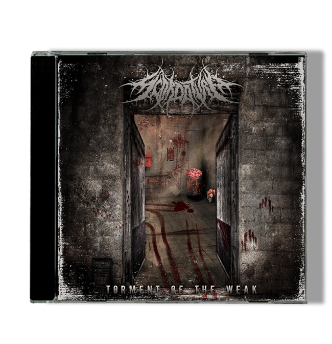 "Image of ""TORMENT OF THE WEAK"" 2013 - DEBUT ALBUM"