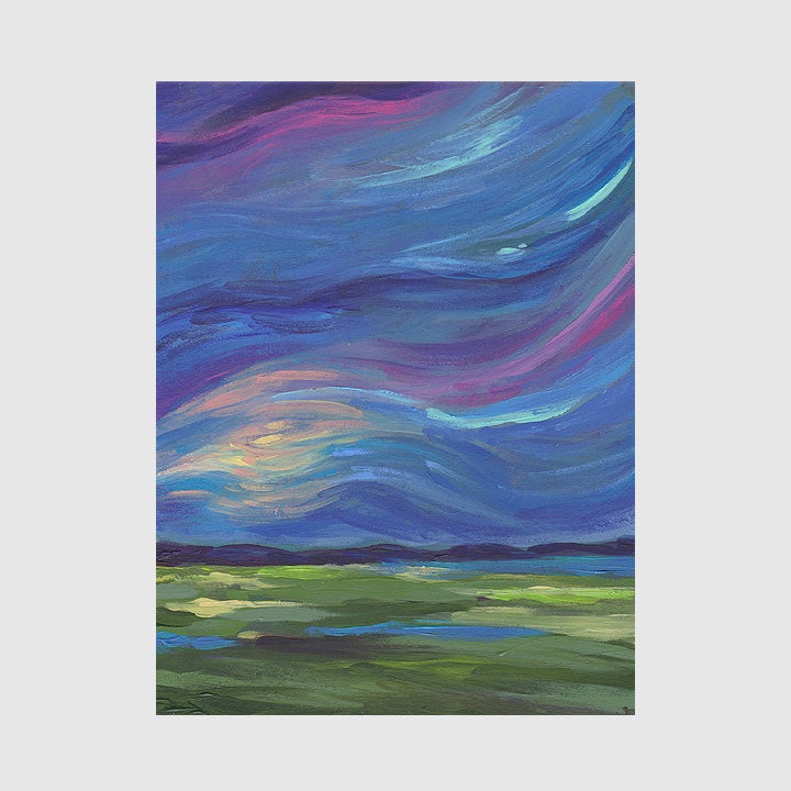 Image of ireland sky: print