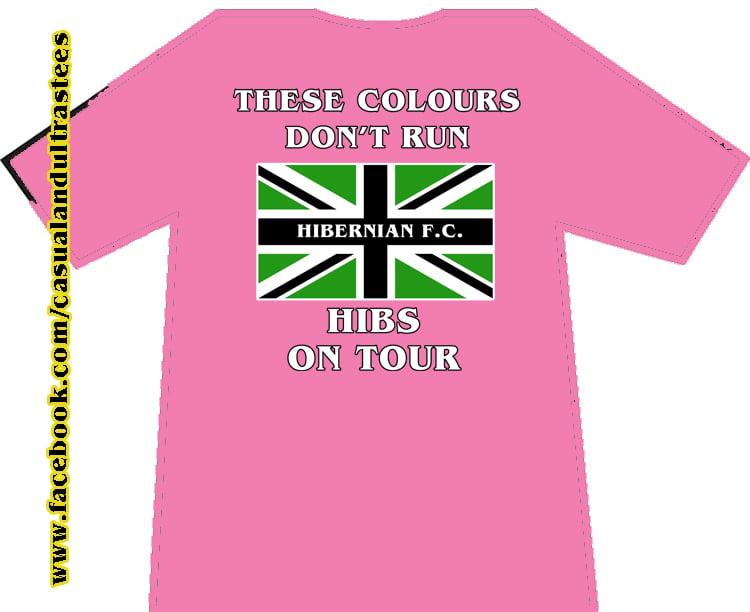 Image of Hibs, Hibernian, CCS, Capital City Service, Casuals, Football Hooligans T-shirt