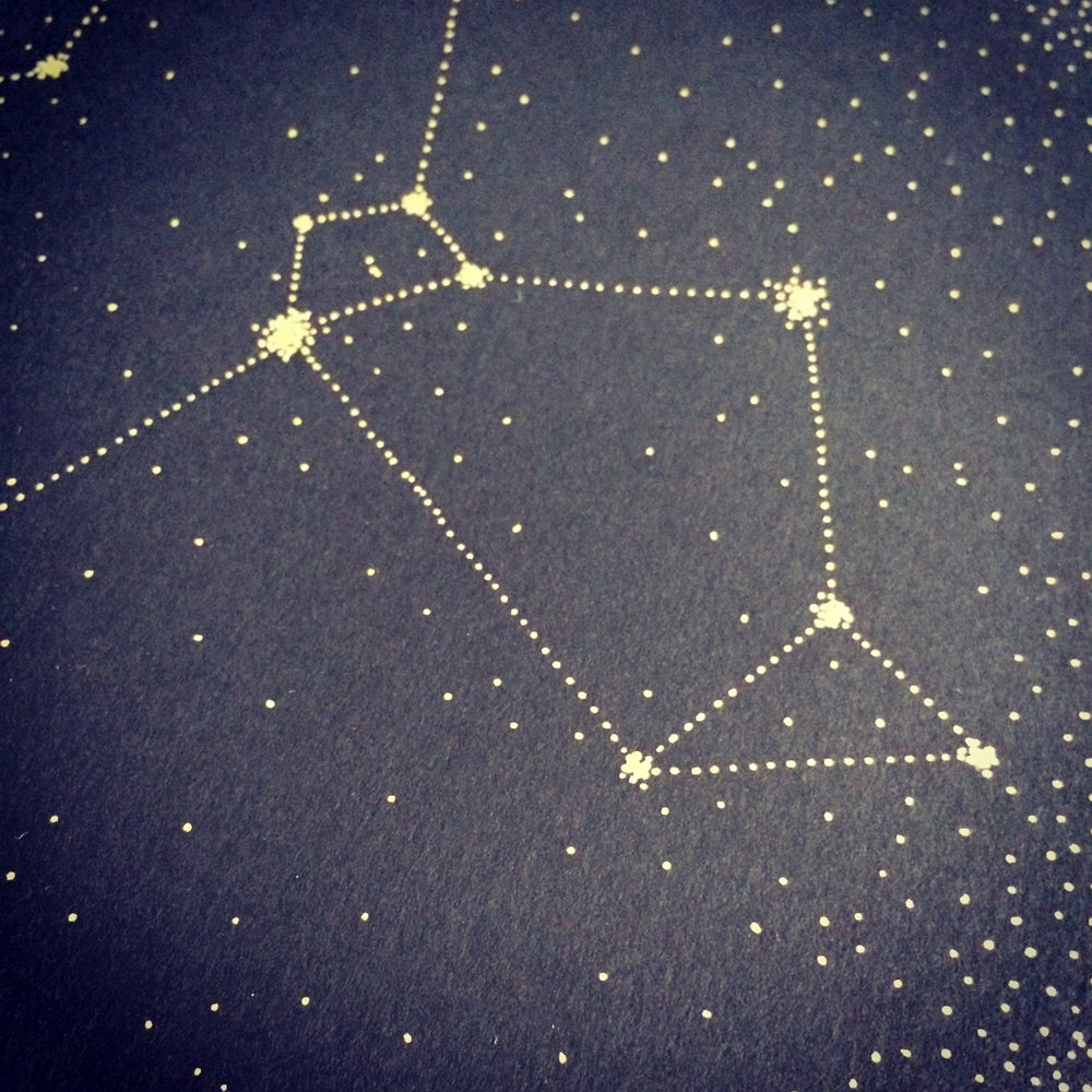 Image of Bespoke Star Constellation Drawing