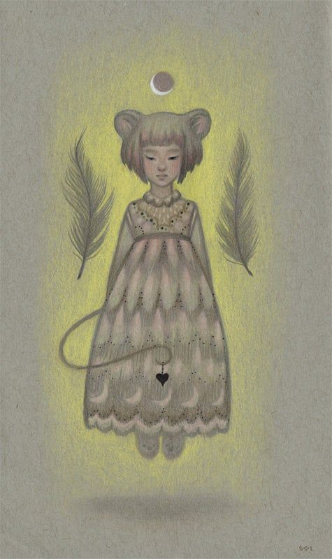 Image of Floaty Mouse<br><h4>-study-</h4>