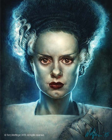 Image of The Bride of Frankenstein