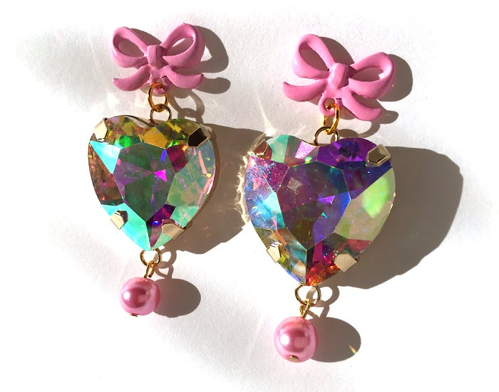 Image of Candied Heart earrings