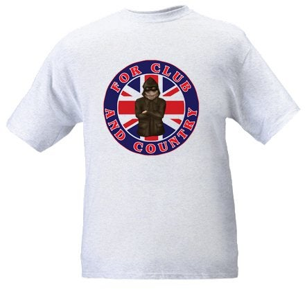 Image of British Flag, For Club & Country T-Shirt.
