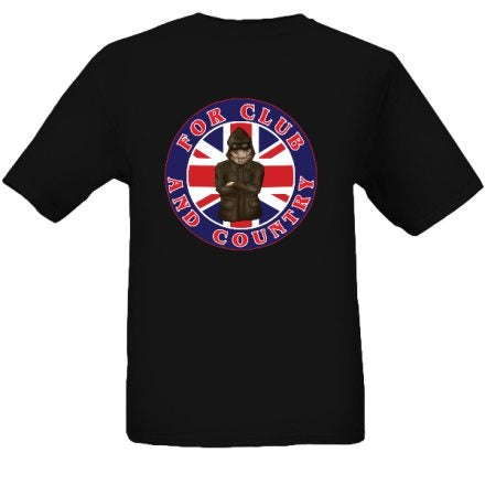 British Flag, For Club & Country T-Shirt.