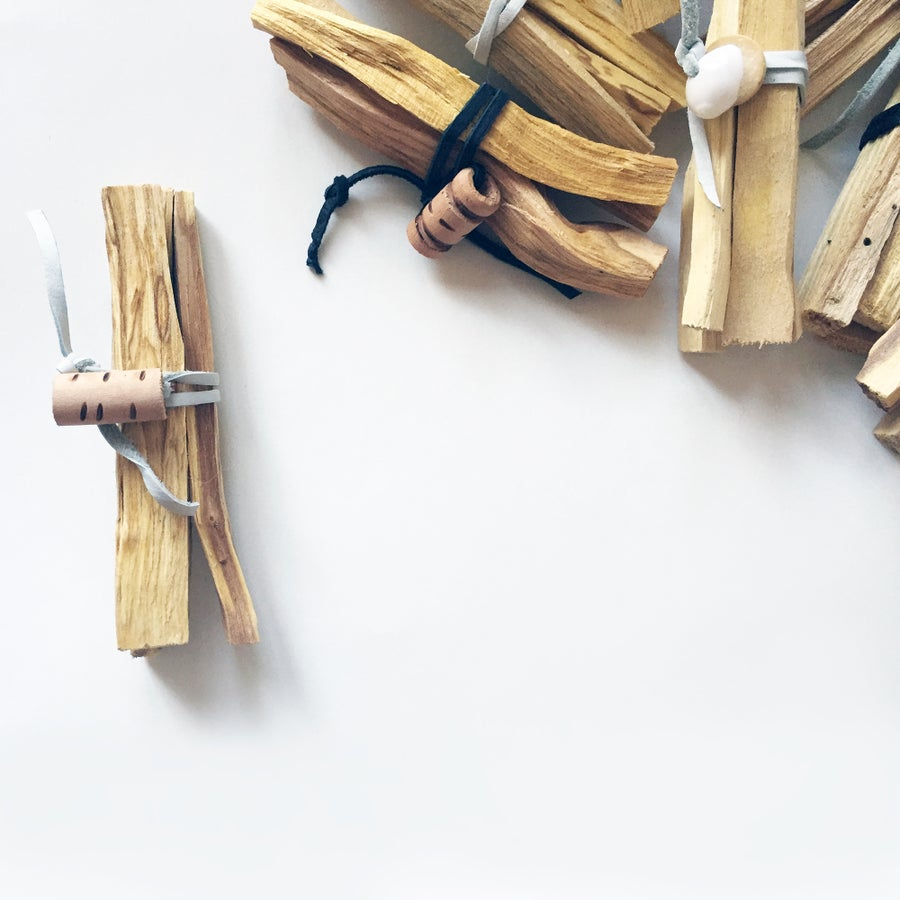 Image of PALO SANTO INCENSE BUNDLE