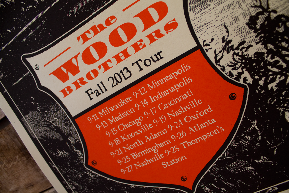 Image of The Wood Brothers - Fall 2013 Tour #1