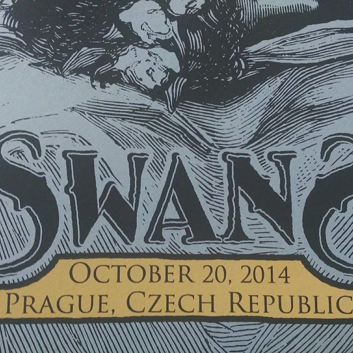 Image of Swans - October 20, 2014 Prague, Czech Republic