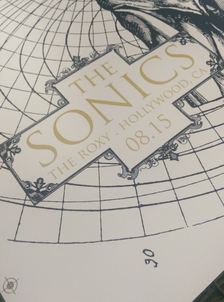 Image of The Sonics - August, 15 2014 Hollywood, CA