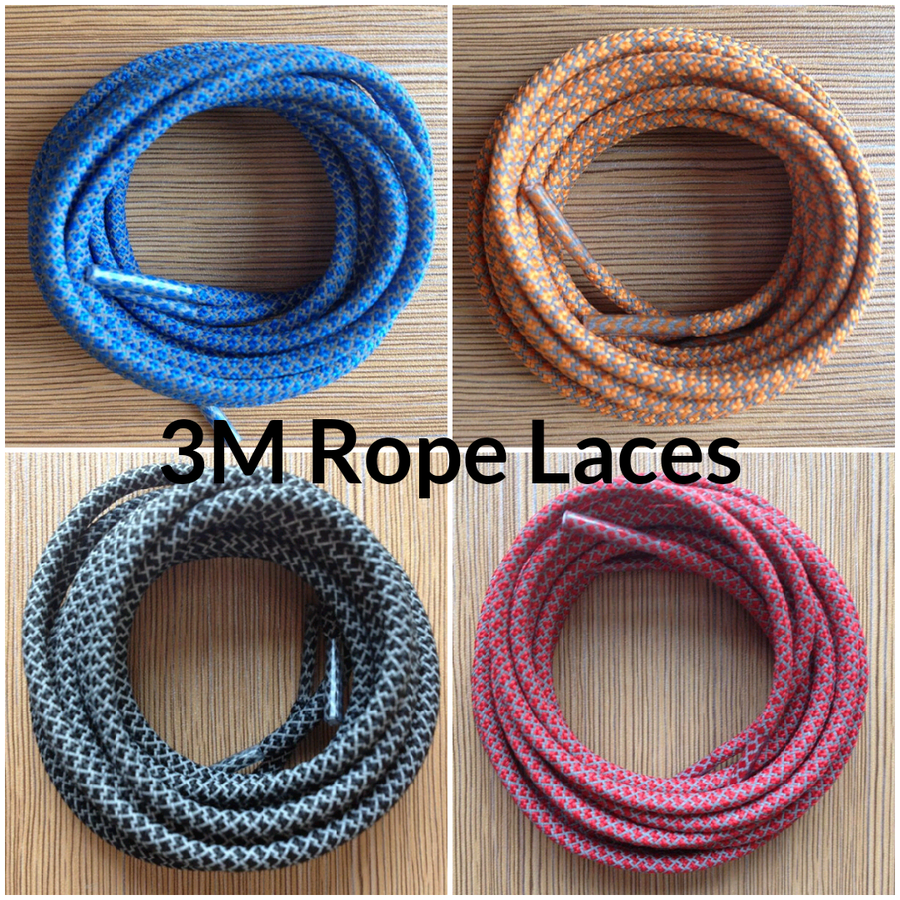 "Image of Exclusive ""3M"" Custom Rope Laces (13 Colorways)"