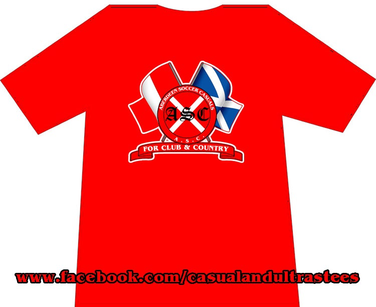 Image of Aberdeen ASC For Club & Country T-Shirts