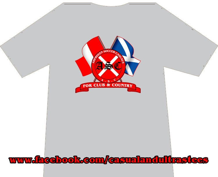 Aberdeen ASC For Club & Country T-Shirts