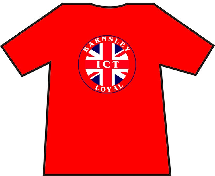 Barnsley ICT Loyal T-Shirts.