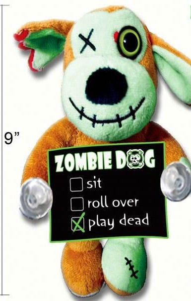 Image of Plush Zombie Dog