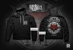 Image of When We Were Wolves - Red Wolf Hoody (Limited)
