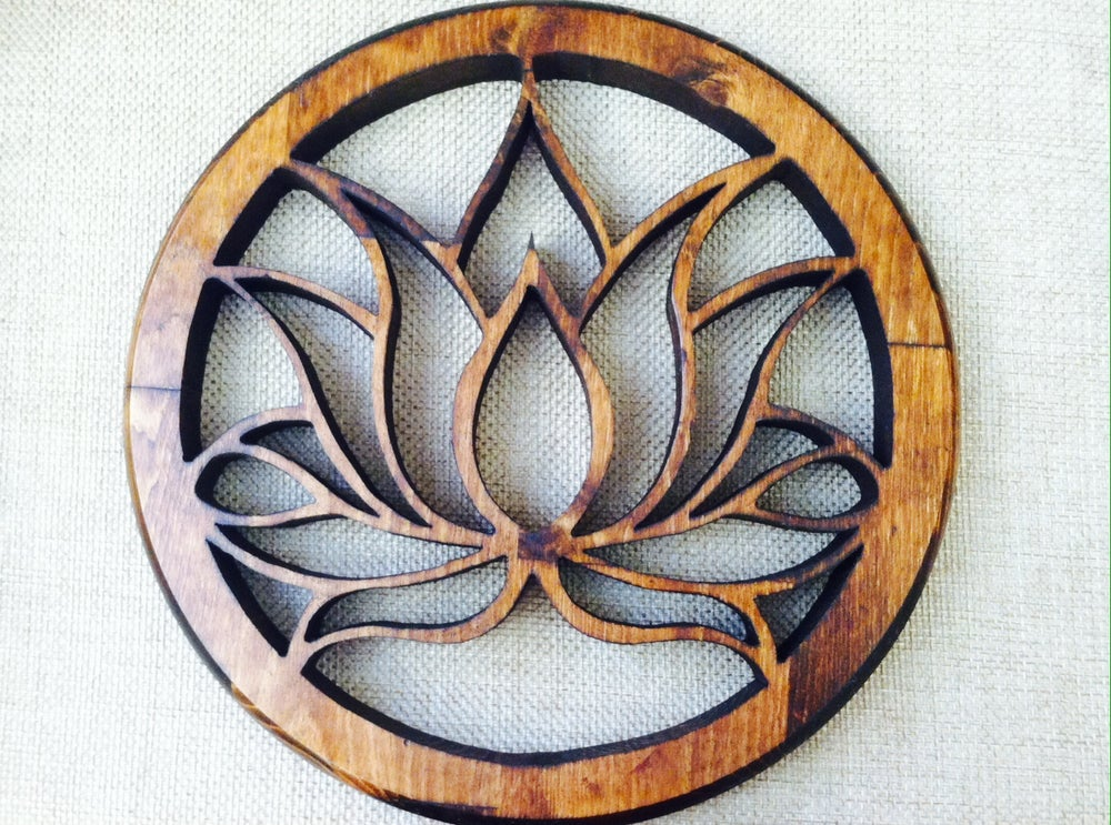 Image of Blossoming Lotus Flower
