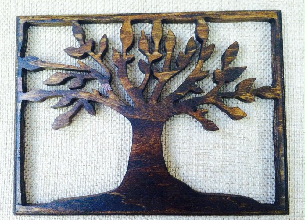 Image of Tree of Life - Rectangle