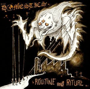 Image of THE DOMESTICS (UK) - 'ROUTINE & RITUAL' ALBUM (CD VERSION)