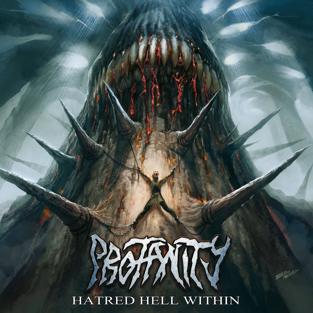 Image of PROFANITY - Hatred Hell Within CD [EP]