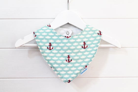 Image of Bandana Bib - Anchors