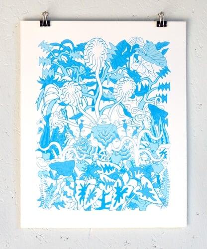CHILL GARDEN (BLUE)
