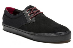Image of Lakai Ltd. MJ X Chocolate Skateboards 20-Year Shoes - Black / Black / Suede