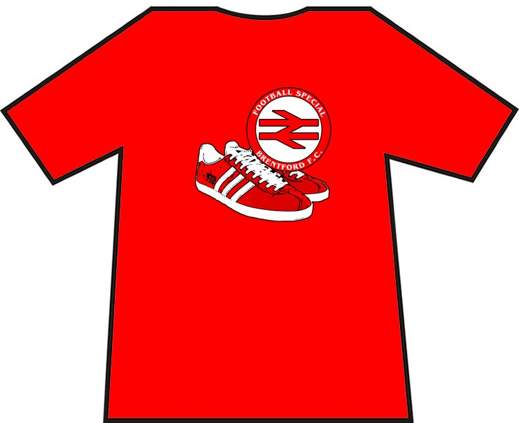 Image of Brentford Football Special, Casuals/Ultras/Hooligans T-Shirt.