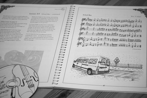 Image of Fiona Drivers Scottish Fiddle Course - book and 41 track CD