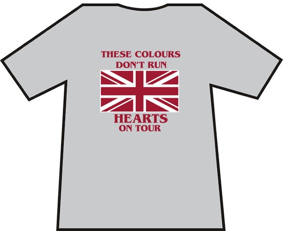 Image of These Colours Don't Run. Hearts On Tour. Casual's T-Shirts.