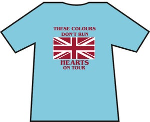 These Colours Don't Run. Hearts On Tour. Casual's T-Shirts.