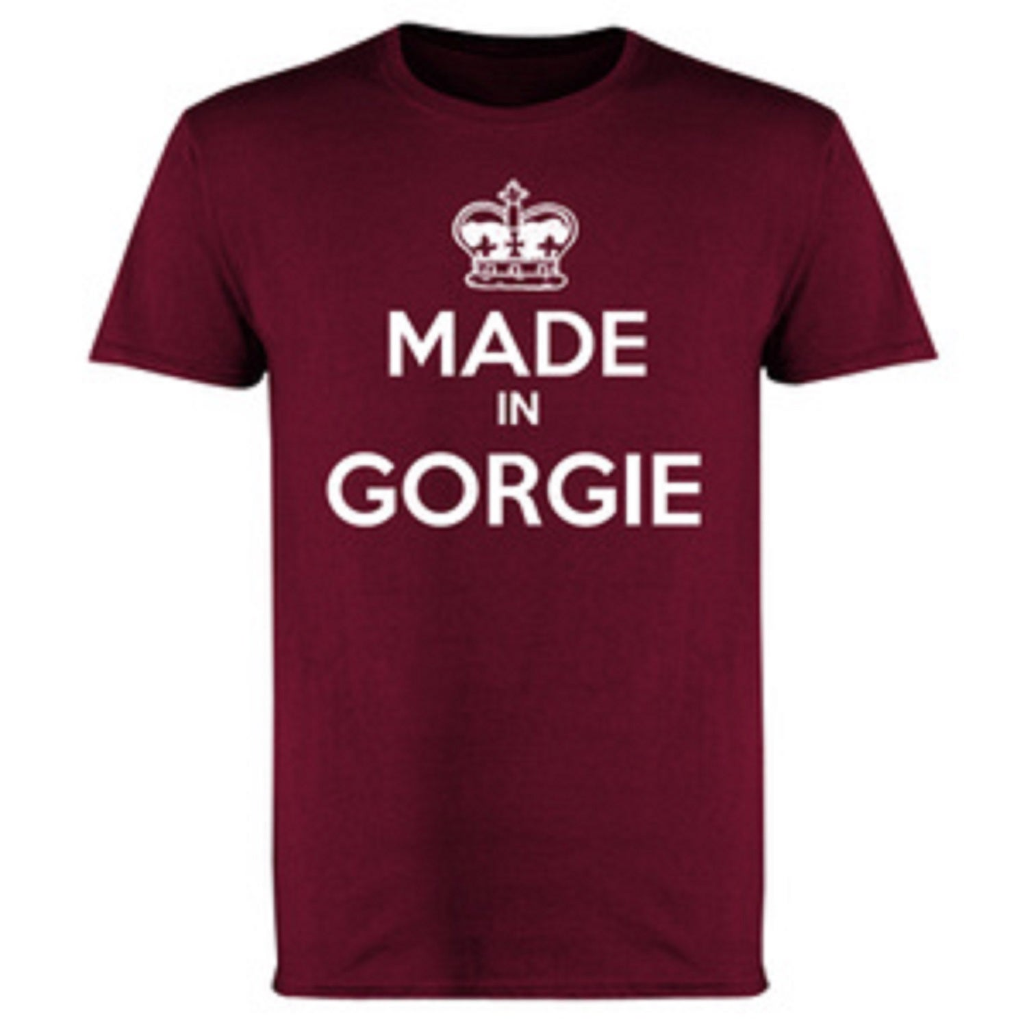 Hearts, Heart Of Midlothian, Made In Gorgie T-Shirts.