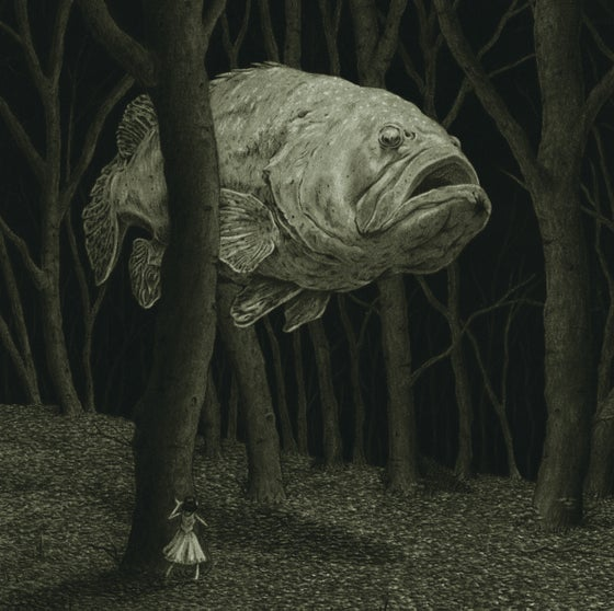Image of 'Ghost Fish' Fine art giclee print