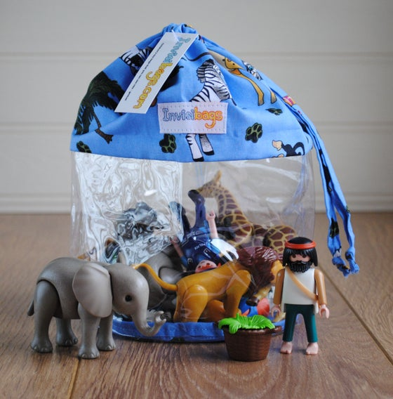 Image of Jungle Animals Invisibag Toy Bag