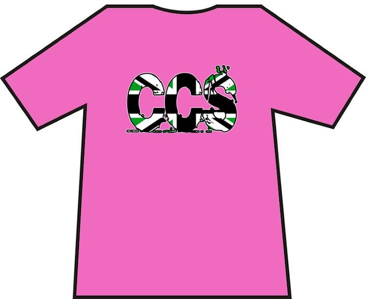 Hibs, Hibernian, CCS British Writing, Capital City Service, Casuals, Football Hooligans T-shirt