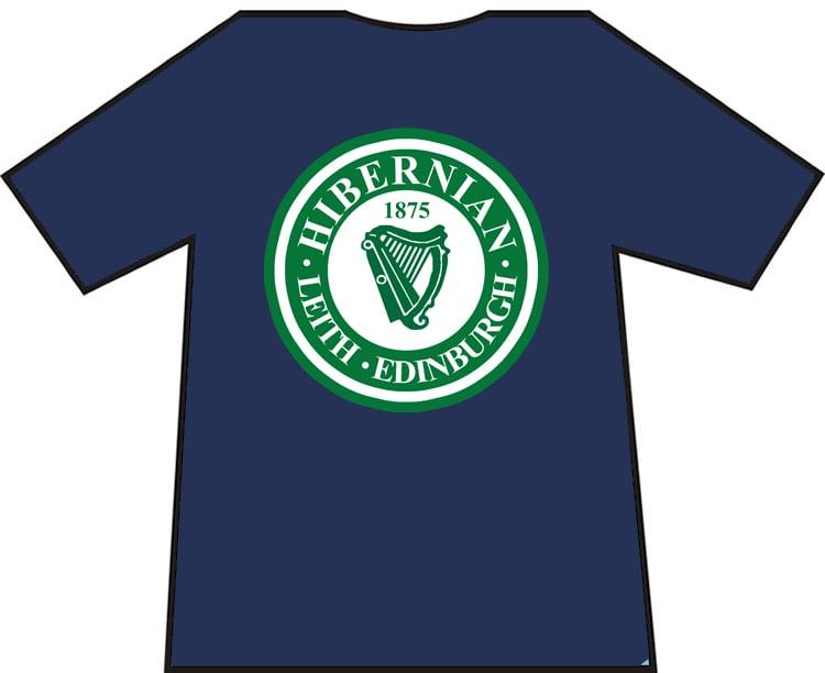 Hibs, Hibernian, Leith, Edinburgh, Harp T-shirts.