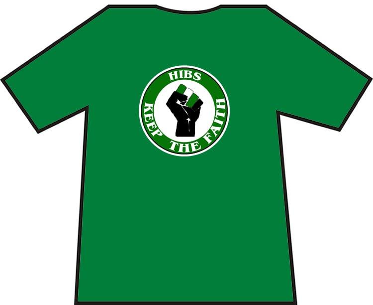 Hibs, Hibernian, Keep The Faith T-Shirts.