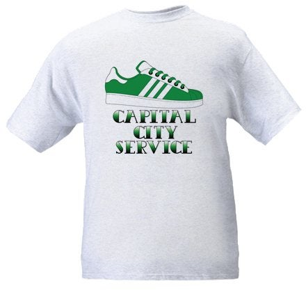 Hibs, Hibernian, CCS, Capital City Service, Trainer, Casuals, Football Hooligans T-shirt