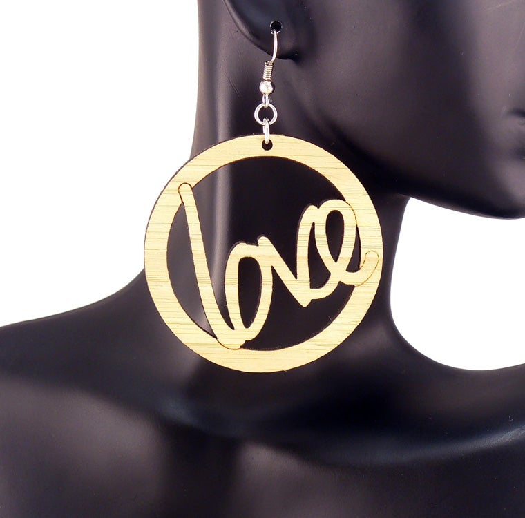 Image of Wooden Word Hoops