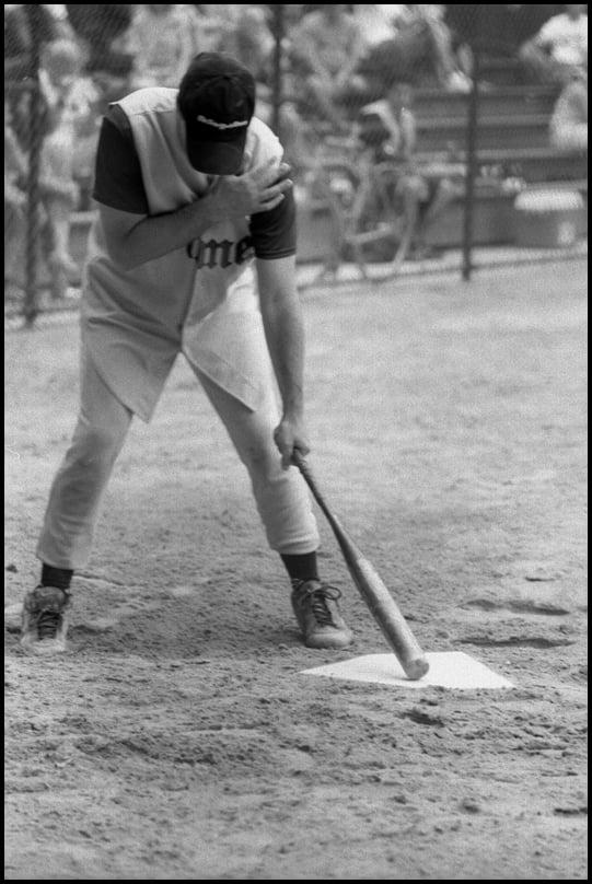 Image of Baseball à Central Park #1 <br> 17,8 x 24 cm