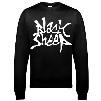Image of GRAFFITI SWEATSHIRT (BLACK)