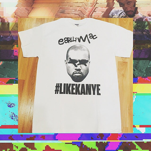 Image of #LIKEKANYE T-Shirt White