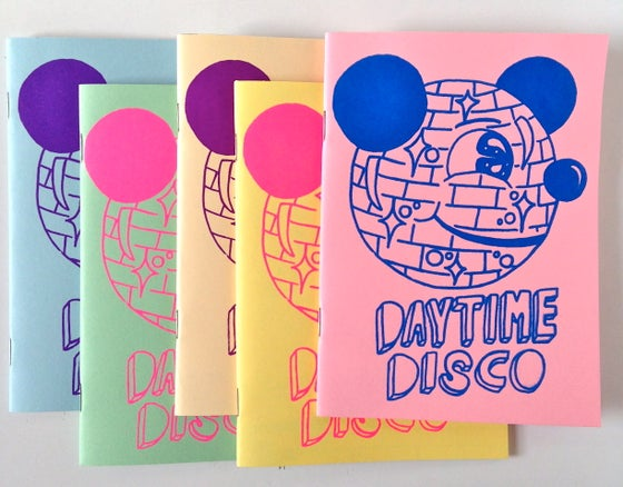Image of Daytime Disco zine by Pacolli