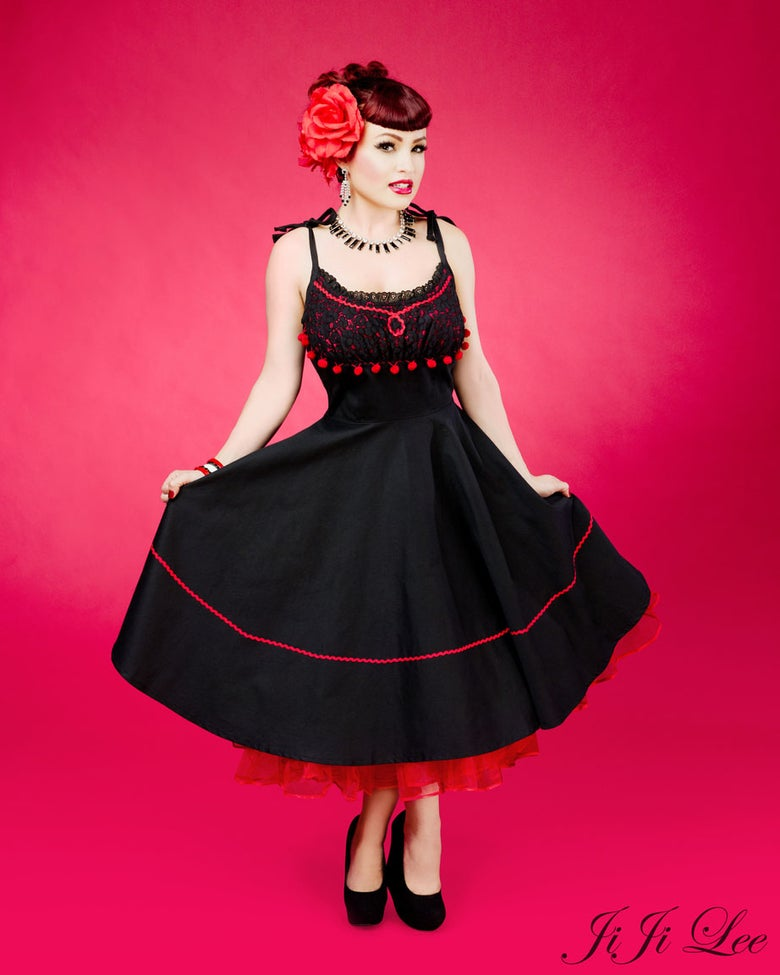 "Image of ""Paloma"" Spanish inspired dress"