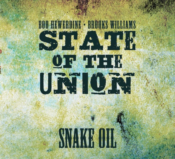 Image of Snake Oil (State of the Union) signed