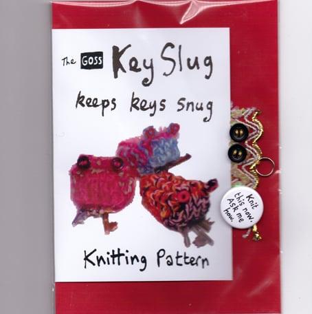 Key Slug knitting pattern | GossKnittingPatterns