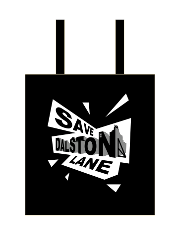 Image of Save Dalston Lane Tote Bag