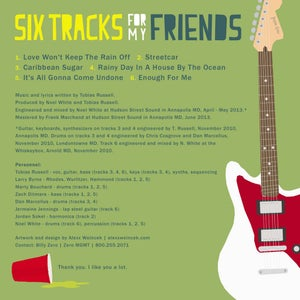 Image of Six Tracks For My Friends