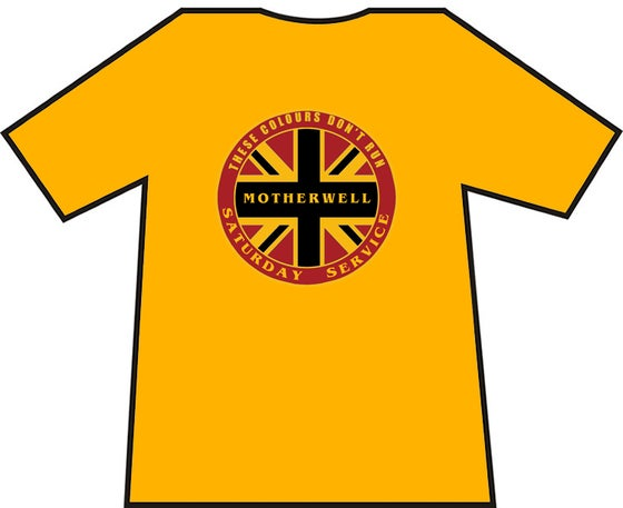 Image of Motherwell Saturday Service Casuals T-shirt.