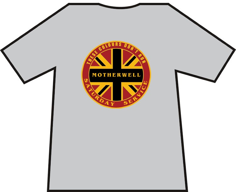 Motherwell Saturday Service Casuals T-shirt.