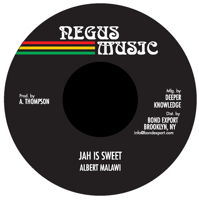 "Image of Albert Malawi - Jah Is Sweet 7"" (Negus Music)"